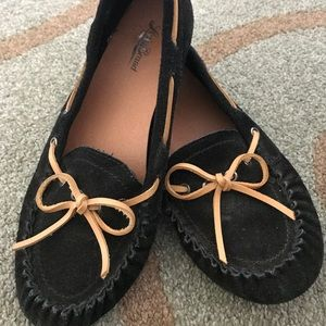 Lucky brand women's moccasins excellent condition